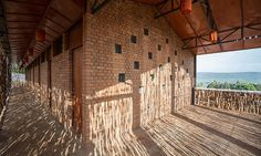Sharon Davis Design recently completed a new housing project in Rwanda, that was built by local residents using regional materials.