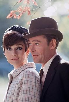 "Audrey Hepburn and Peter O'Toole in ""How to Steal a Million,"" Paris, France, 1965"