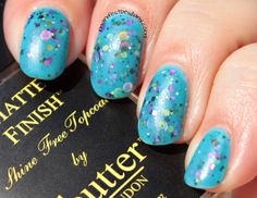 Confessions of a Sarcastic Mom: Jindie Nails Anniversary Seaquins swatches+review