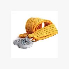 Nylon Car Tow Cable Tow Rope Glow At Night Emergency 8T 3Meters Glove Kit