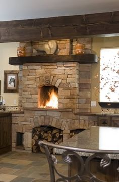 Build A Fireplace In Your Kitchen Sortrachen Design Ideas