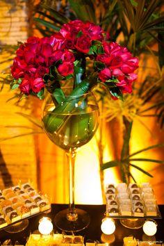 decoração floral Espaço Lilló