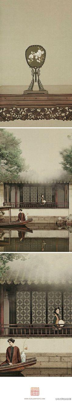 [生命清供]之卷五,落花时节。 photoed by Sun Jun