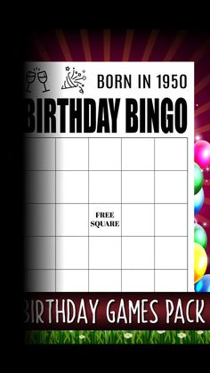 Born In Birthday, Quick Games For Adults, Adult Male Birthday Party 70th Birthday Parties, Adult Birthday Party, Birthday Party Games, Man Birthday, Birthday Ideas, Funny Party Games, Adult Party Themes, Christmas Party Games, Quick Games