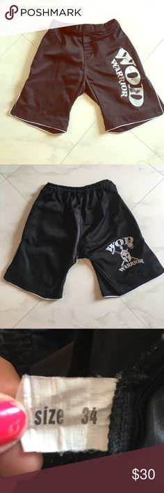 Men's Crossfit Shorts WOD Warrior crossfit shorts size 34 Shorts Athletic