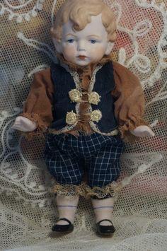Antique German doll Hertwig