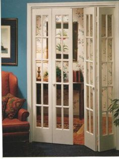 New Diy Room Partition Bedrooms Closet Doors Ideas Interior Barn Doors, Interior Exterior, Interior Design, Interior French Doors, Bifold French Doors, Double Doors, Bifold Internal Doors, French Closet Doors, Bedroom Closet Doors