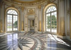 The French Pavilion on Marie Antoinette's Petit Trianon Park Grounds