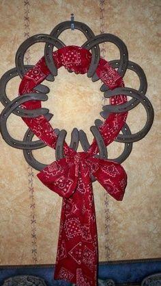 horseshoes upcycle | Horseshoe Art