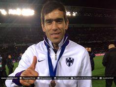 Chelito, mejor goleador del torneo, agradece a la Afición por su apoyo en todo momento de #RayadosEnElMundial