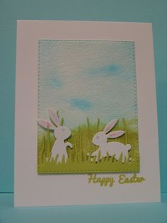 Easter Bunnies by suen - Cards and Paper Crafts at Splitcoaststampers