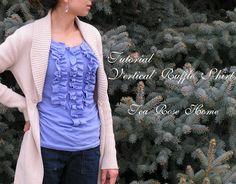 Ruffle shirt~ Why Not Vertical