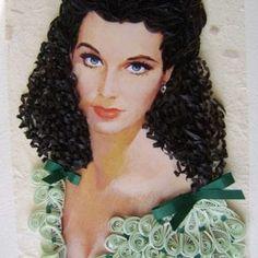 En Yeni Quilling Çalışmaları - Mimuu.com Aesthetic Hair, Paper Quilling, Disney Princess, Disney Characters, Artist, Scarlet, Design, Portraits, Silhouette