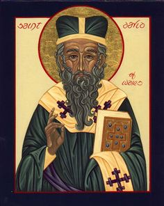 Icons of St. David of Wales, Bishop, Confessor