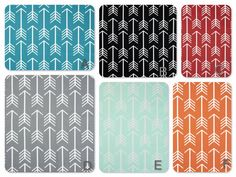 Two Arrow Curtain Panels-25x84 Many colors by LavenderLinens