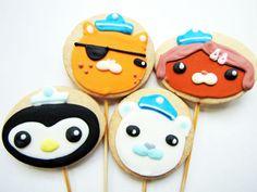 Octonauts-cookies for Anthony's birthday
