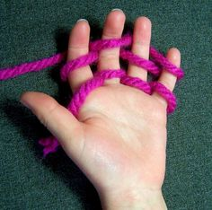 Finger knitting is a really good way of getting children interested in wool crafts, and it is very easy to learn. It also helps to impro...