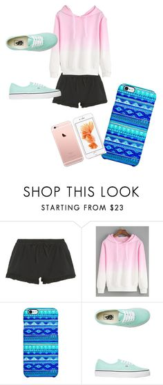 """Untitled #71"" by hcampbell-1 ❤ liked on Polyvore featuring DKNY, Uncommon and Vans"