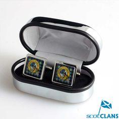 Clan Crest Cufflinks