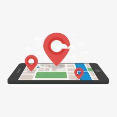 矢量手机地图定位