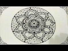 Mandala Painted Pebble by MagaMerlina - Mandala Painted Stones. - YouTube