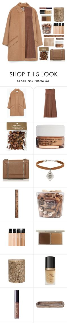 """""""Untitled #2628"""" by tacoxcat ❤ liked on Polyvore featuring Zara, River Island, Pier 1 Imports, Korres, 3.1 Phillip Lim, Miss Selfridge, WALL, Stonebriar Collection, mark. and Stila"""