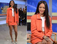 Rihanna In Chanel – Good Morning America