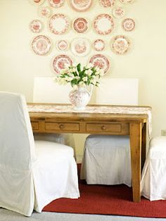 Be Book Bound: Jane Austen Month, Day 12: Decorating with Plates