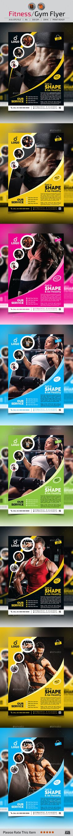 Fitness flyer Flyer printing, Print templates and Template - fitness flyer