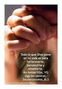 Dios tiene el control de todo! Biblical Quotes, Religious Quotes, Spiritual Quotes, Bible Quotes, Bible Verses, Christ In Me, Christian Messages, Blessed Quotes, Believe In God
