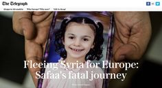 Fleeing Syria for Europe: Safaa's fatal journey