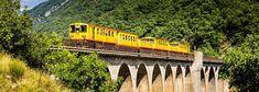 Destinations, Ouvrages D'art, Train, Suspension Bridge, Thermal Baths, Travel Destinations