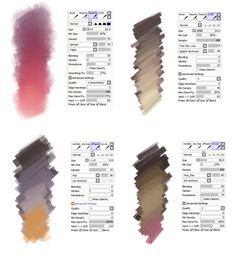 Brush settings by sirwendigo http://sirwendigo.deviantart.com/art/Brush-settings-for-Paint-tool-SAI-511385825