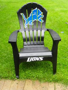 Detroit Lions Team chairs on Etsy, $79.49 CAD