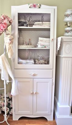 A Sweet Little Shabby Cabinet