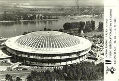 Beograd - 1963. - Hala 1 Sajma - pozivnica