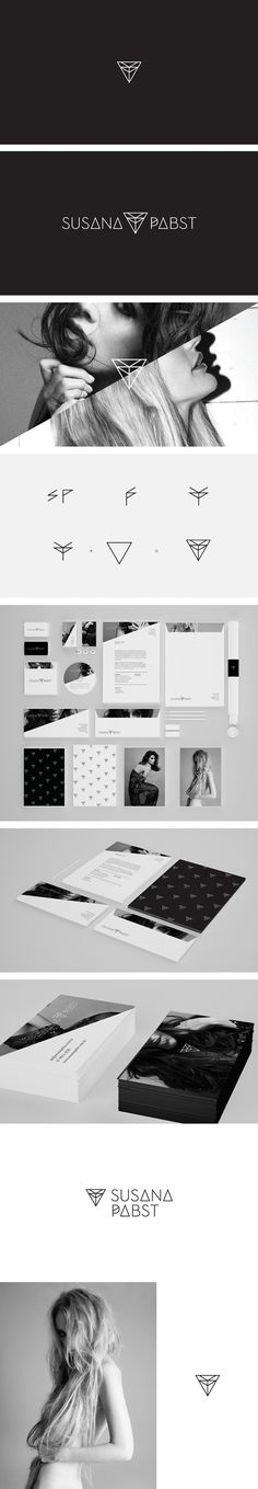 Susana Pabst by Arthur William Presser, via Behance