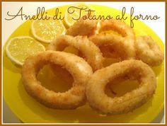 Pasticciando in cucina: Anelli di Totano al forno...che si credevano fritti!