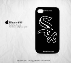Chicago White Sox Logo MLB Team iPhone 4/4s Case | Dalmanaz - Accessories on ArtFire