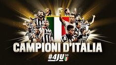 Juventus Campione d'Italia - Champions of Italy #4Ju33