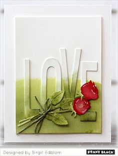 Let's fill 2018 with LOVE! Join us over the next several weeks as our designers and crafty friends showcase stamps and dies from our newest collection, Love & Roses. Today's cards from Birgit a…