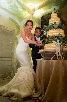 Chrissy Teigen and John Legend's wedding via her blog Sodelushious
