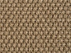 Close-up of brown sisal surface