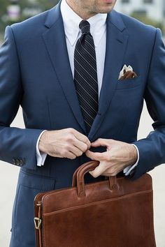 """The """"All-Business"""" Royal Blue Suit"""