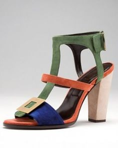 Green clothes shoes accessories - myLusciousLife.com - roger-vivier-spring-summer-2011-collection.jpg