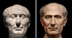 Carthage, Hannibal Barca, Alexandre Le Grand, Creepy Faces, Pliny The Elder, Julius Caesar, Photoshop, Portraits, Roman Emperor