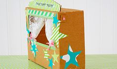 Think outside the box - IKEA Abc Preschool, Preschool Centers, Diy And Crafts, Crafts For Kids, Puppet Theatre, Diy Cardboard, Thinking Outside The Box, Finger Puppets, Theatres