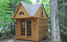 Our very popular permit-free cottage bunkie! Loft upstairs for lots of extra sleeping space!
