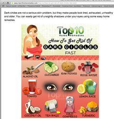 top 10 dark undereyes treatments