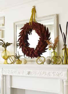 Thanksgiving Decorating Ideas: Well-Rounded #thanksgiving #decorating #fall